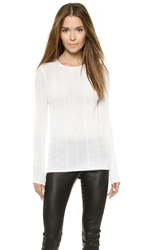 Torn By Ronny Kobo Karmin Sweater White