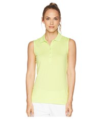 Callaway Opti Dri Micro Hex Sleeveless Polo Sharp Green