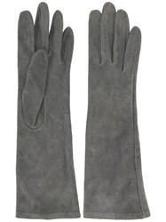 Yves Saint Laurent Vintage Long Gloves Grey