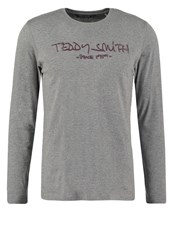 Teddy Smith Ticlass Long Sleeved Top Gris Chine Mottled Grey