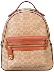 Coach Signature Campus 23 Backpack Brown