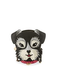 Betsey Johnson Kitsch Fritzy Dog Crossbody Bag Black
