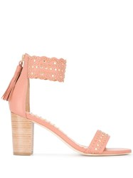 Ulla Johnson Solange Sandals Pink