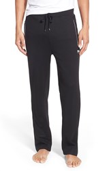 Boss Cotton Blend Track Pants Black
