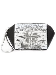 Alexander Wang 'Chastity' Clutch Bag Black