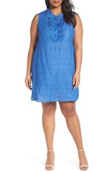 Nic Zoe Plus Size Women's Drifty Linen Tunic Dress