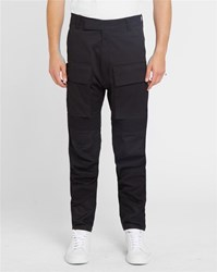 G Star Black 3D Vodan Patch Pockets Trousers