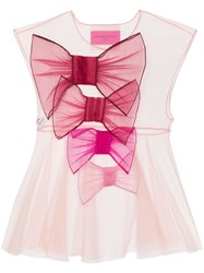 Viktor And Rolf So Many Bow Tulle Top 60