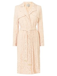 Coast Tortie Lace Coat Blush