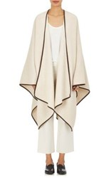 The Row Women's Dusana Brushed Knit Cape Tan