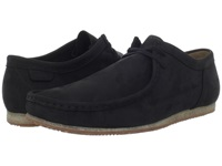 Clarks Wallabee Run Black Nubuck Men's Lace Up Casual Shoes