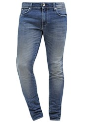 Gas Jeans Gas Sax Slim Fit Jeans Wash Light Blue