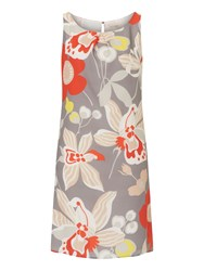 Vera Mont Floral Print Dress Red