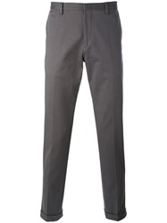 Paul Smith Classic Fit Chino Men Cotton 30 Grey