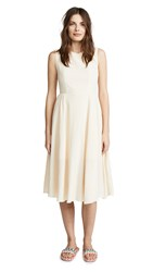 Evidnt Crisscross Back Dress Cream