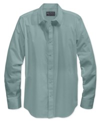 American Rag Men's Long Sleeve White Shirt Only At Macy's Smoke Blue