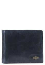 Fossil Ryan Wallet Navy Dark Blue