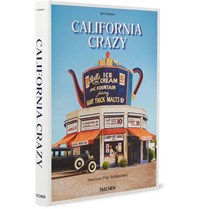 Taschen California Crazy American Pop Architecture Hardcover Book Blue