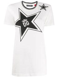 Dolce And Gabbana Dg Star Print T Shirt 60