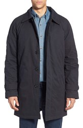 Men's Pendleton Water Resistant Long Coat With Removable Vest Liner Navy