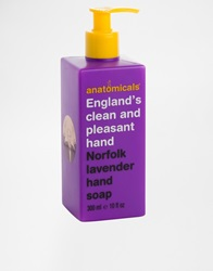 Anatomicals England's Clean And Pleasant Hand Norfolk Lavender Soap 300Ml Cleanandpleasant