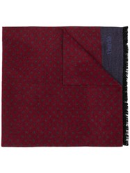 Church's Polka Dotted Elongated Scarf Red
