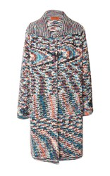 Missoni Multicolor Knee Length Coat
