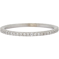 Tate Diamond And White Gold Eternity Ring