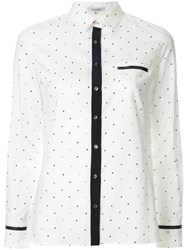 Guild Prime Star Print Contrast Shirt White