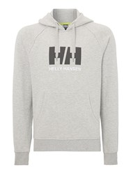 Helly Hansen Hh Graphic Crew Neck Hoodie Grey