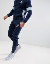 Gym King Skinny Joggers In Navy