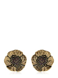 Alcozer And J. Cloe Clip On Earrings With Garnets