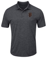 Profile Big And Tall San Francisco Giants First Hit Polo Charcoal