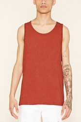 Forever 21 Mineral Wash Cotton Tank