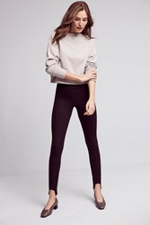 Anthropologie Mcguire Bridgette Stirrup Leggings Black