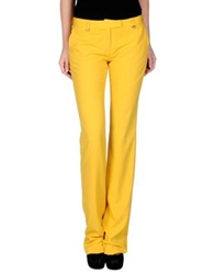 Angelo Marani Casual Pants Yellow