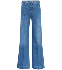 Mih Jeans Bay Flared Blue