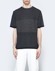 Christophe Lemaire Short Sleeve Sweater Slate Cream