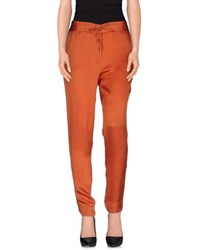 Brian Dales Trousers Casual Trousers Women Rust
