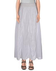 Lou Lou London Skirts Long Skirts Women White