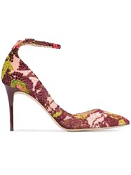 Jimmy Choo 'Lucy 85' Patterned Pumps