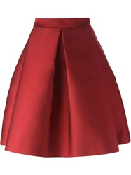 P.A.R.O.S.H. Full A Line Skirt Red