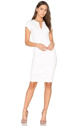 Eight Sixty V Neck Dress White