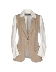 Collection Priv E Suits And Jackets Blazers Women Khaki