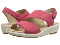 Hush Puppies Lyricale Slingback Paradise Pink Nubuck Sling Back Shoes