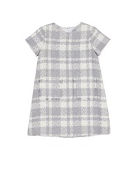Florence Eiseman Boucle Plaid Dress W Fringe Pockets Multi