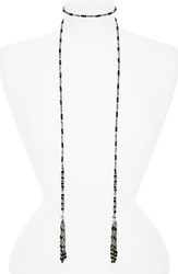 Cristabelle Women's Beaded Tassel Lariat Necklace