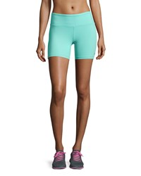 Alo Yoga Burn Performance Shorts Pool Blue