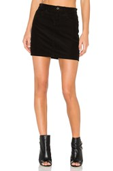 J Brand Gwynne Skirt Black