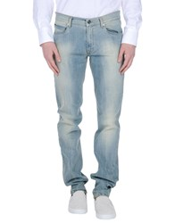 Byblos Denim Denim Trousers Men Blue